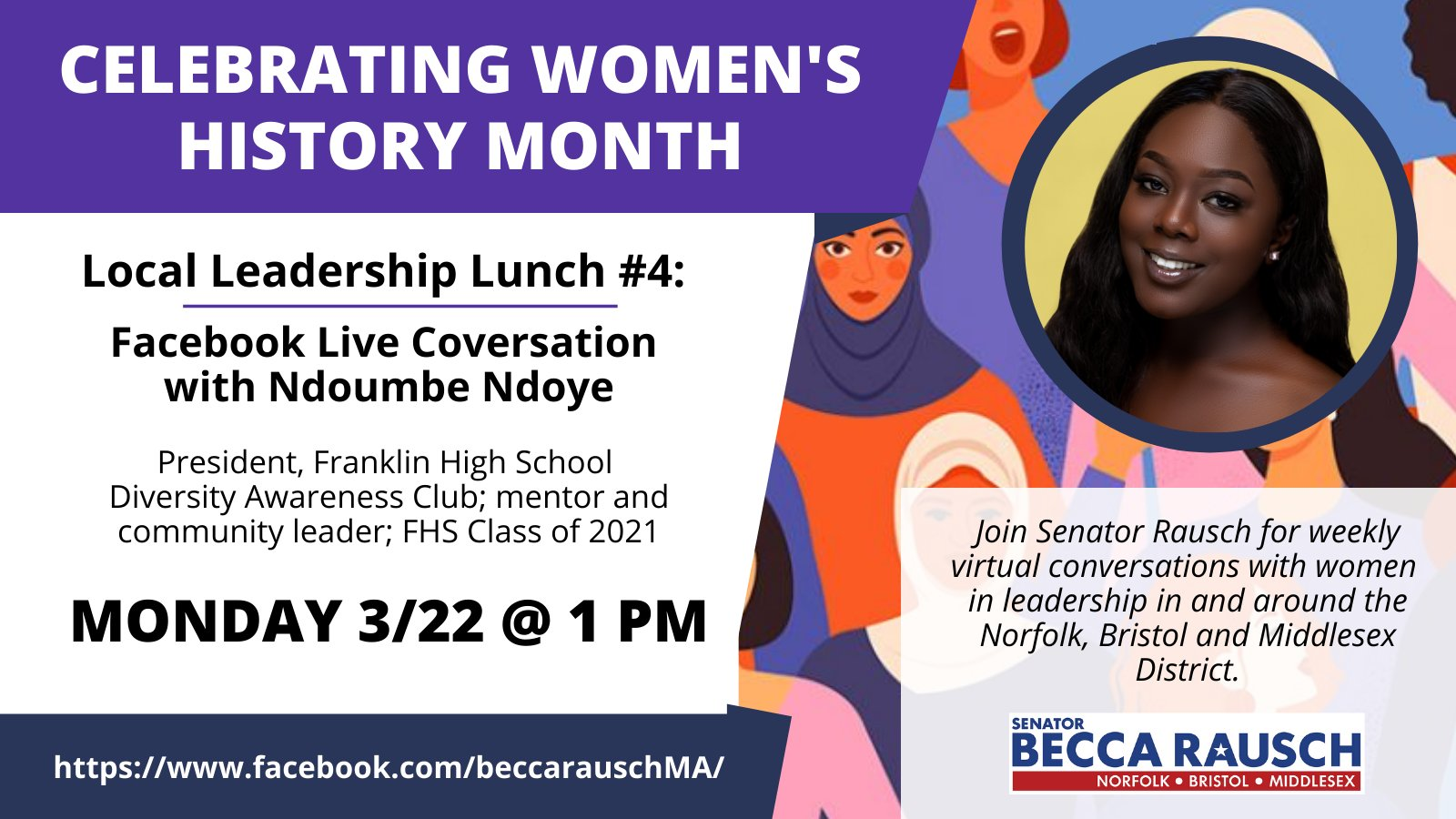 4th Local Leadership Lunch with Ndoumbe Ndoye - Mar 26 - 1:00 PM
