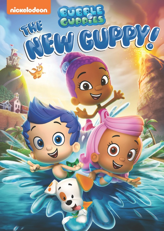 Fun learning with newest Bubble Guppy DVD
