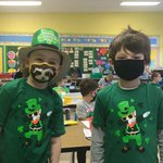 Image for the Tweet beginning: Twinning on St. Paddy's Day