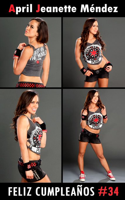 "¡FELIZ CUMPLEAÑOS APRIL JEANETTE MENDEZ! ""Aj Lee\"" Happy Birthday !"