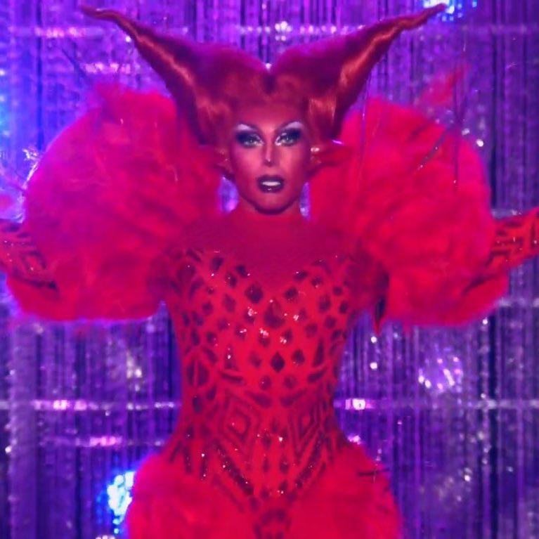 """sinead 🐶 on Twitter: """"devil rosé, that's it that's the entire tweet  #DragRace… """""""