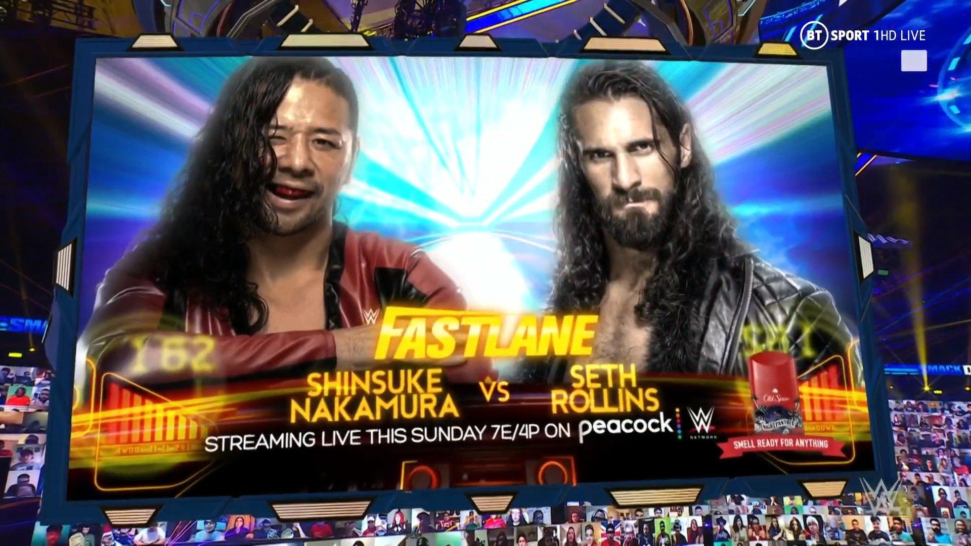WWE Fastlane 2021: Full Match Card Set Following Smackdown 87