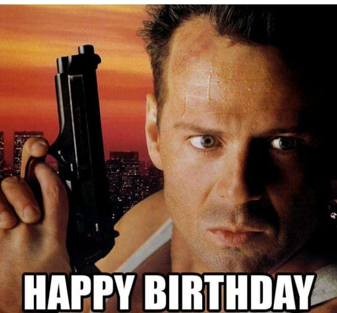 Happy birthday to Mr. Bruce Willis !