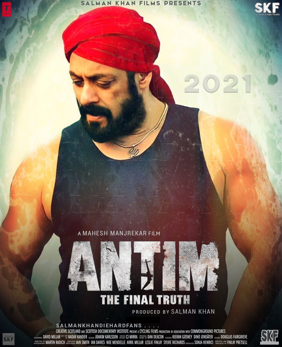 Vighnaharta (Antim The Final Truth) 2021 Hindi Movie Official Video Song 1080p HDRip Download