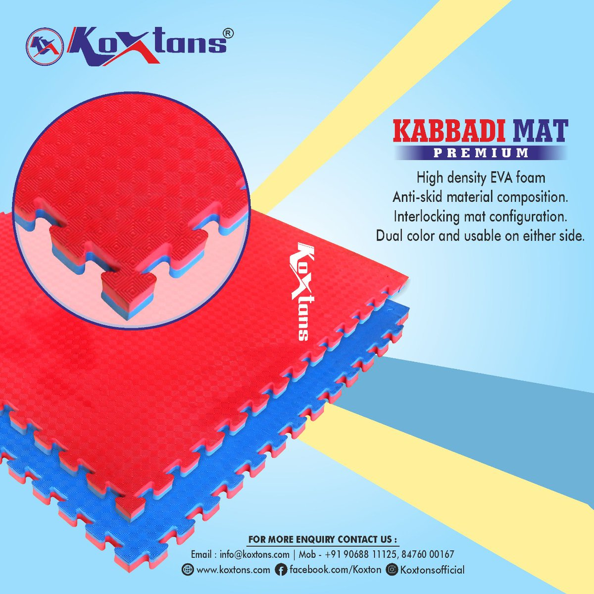 Get up Get Loud! with the best Kabaddi Mats.  Exclusive and Quality Mats. Visit https://t.co/lMNXHnQaNt or DM on 9068811125. #kabaddikabaddi #kabaddimats #kabaddiplayer #indiankabaddi #indooroutdoorgame #koxtonsport https://t.co/GJ2ZmKmZST