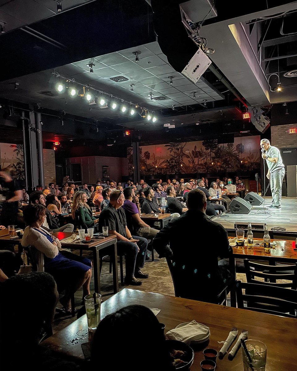 Amazing first show at the Miami Improv . Two more shows tomorrow night . See you there https://t.co/Qu7JWtAsip