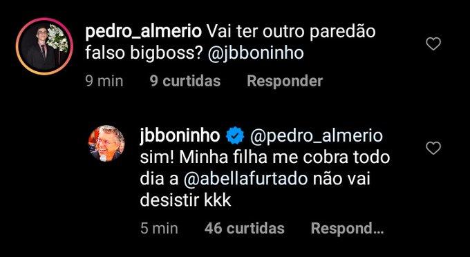 CONFIRMADO! Boninho anuncia o segundo paredão falso do Big Brother Brasil 21