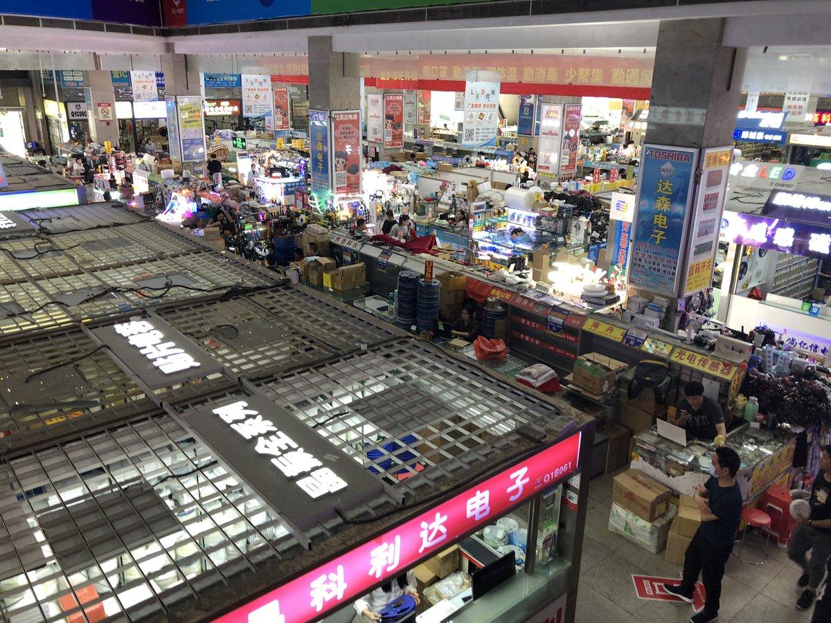 中国にある電子部品デパートが、古の秋葉原のようにしか見えない!