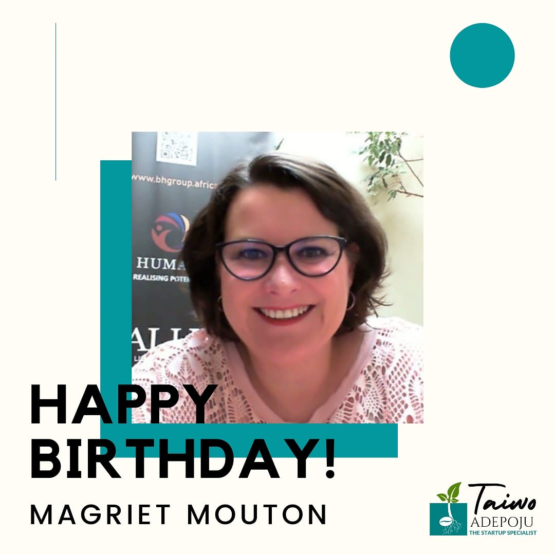 Happy birthday Magriet Mouton @magrietmouton - wishing you a great year filled with all you can ever wish for.   May your life be filled with many reasons to smile and laugh.   Have a wonderful celebration. ❤🤗🕺🕺🕺🍾🥮  #happybirthday #celebration #joyfulheart   #marchforth