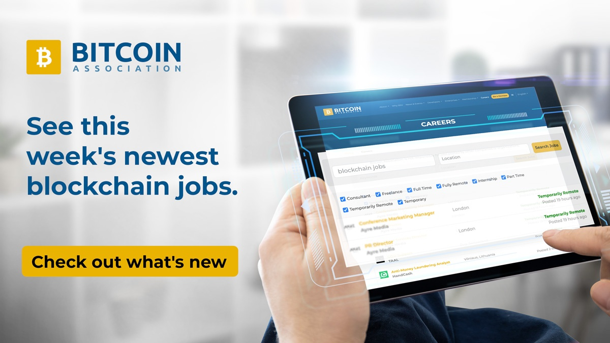 bitcoin job uk)