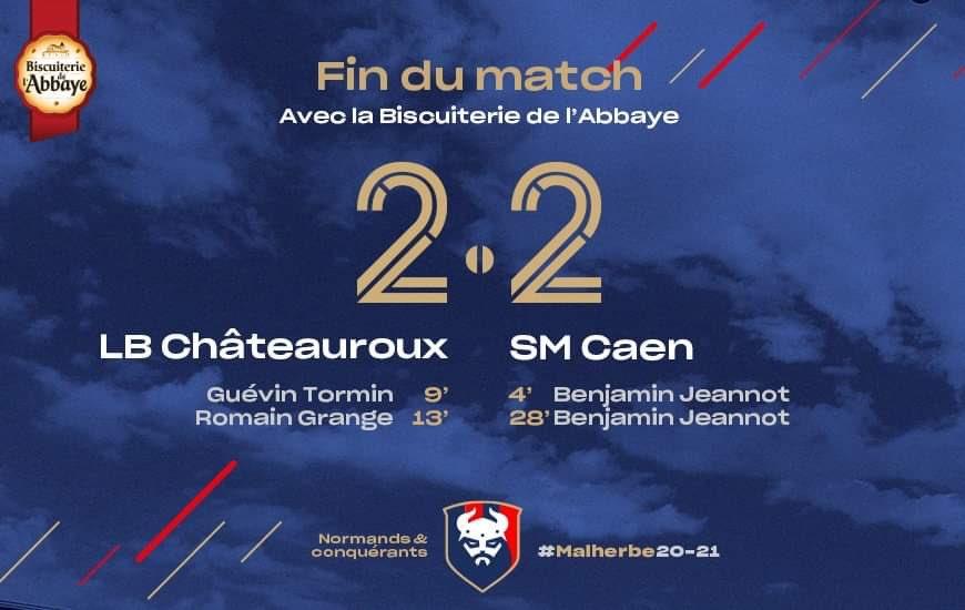 [30e journée de L2] Châteauroux - SM Caen Ew82Y95WUAAtpvm?format=jpg&name=900x900