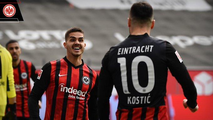 Andre Silva dan Kostic