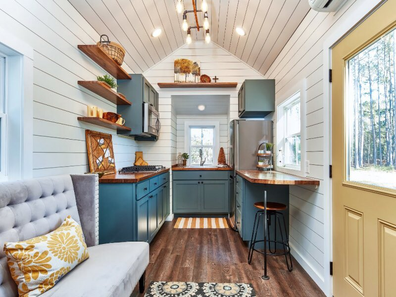 Tiny House On Twitter The Cypress A Modern Open Design With A Sleeping Loft Full Kitchen And Spacious Bathroom Photos By Https T Co Xdeyyd5cdf Https T Co Q1mxhuouaw