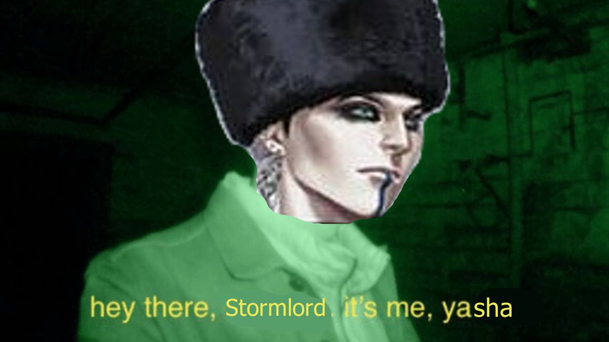 Rewatching last weeks episode today, all I could think of when Yasha tried to talk to the Stormlord was this. #CriticalRoleSpoilers #CriticalRole
