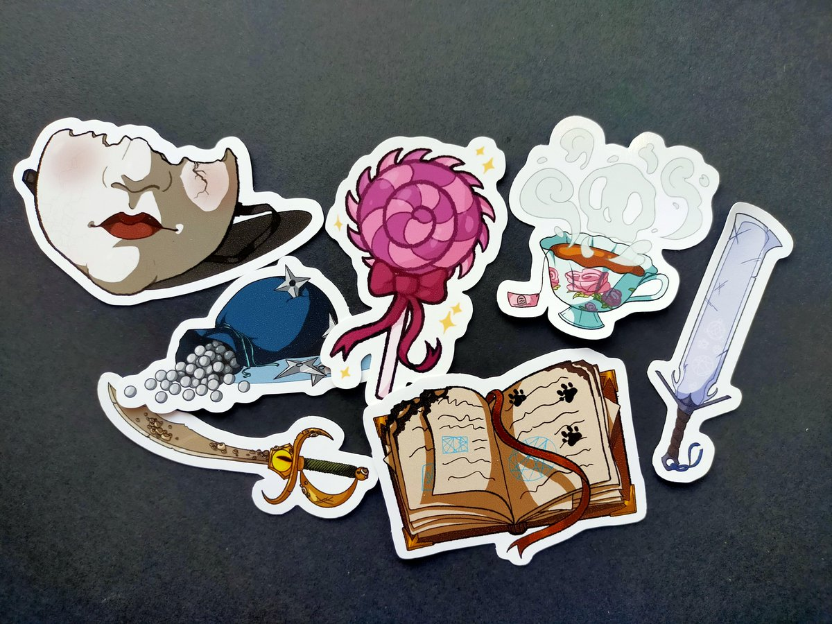 #CriticalRole stickers now avalible in my newly opened etsy store!    RTs and Likes are really appreciated to spread the word :>
