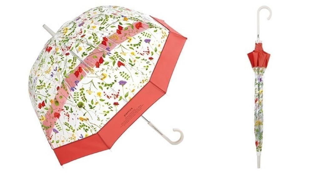 Wpc.の花が宙を舞う傘が可愛すぎる!カラフルフラワーを散りばめたドーム型の傘で雨の日も気分が上がる!