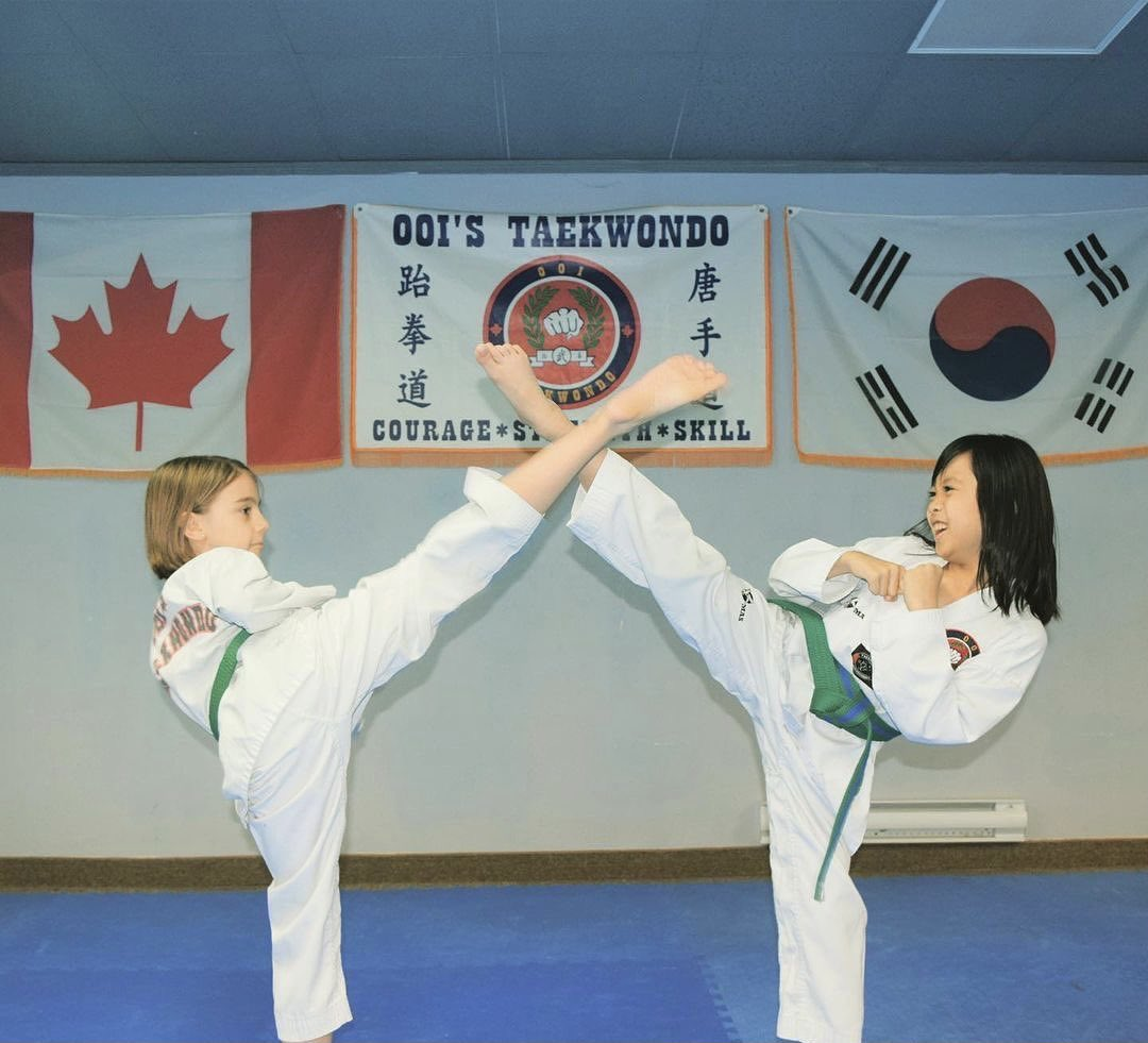 Happy International Women's Day to the #tkdladies at #ooitaekwondo. Check out these #strong #powerful #women who #kicklikeagirl 👊💪🦶🥋
