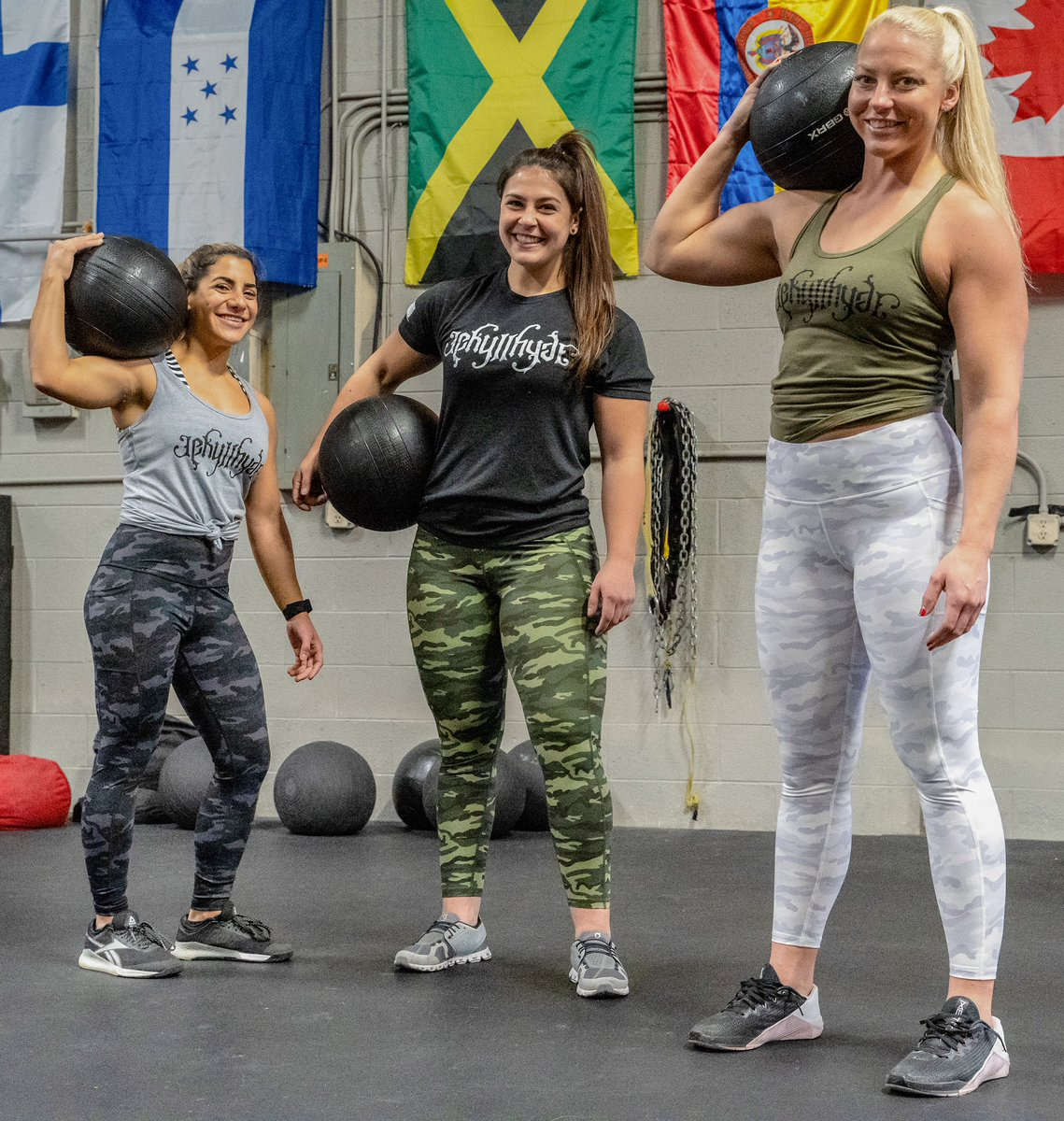 Strong comes in many forms and we support all of them. Happy international women's day. 💪🏼 . . #strong #internationalwomensday #jekyllhyde #jh #skull #beaker #leggings #camo