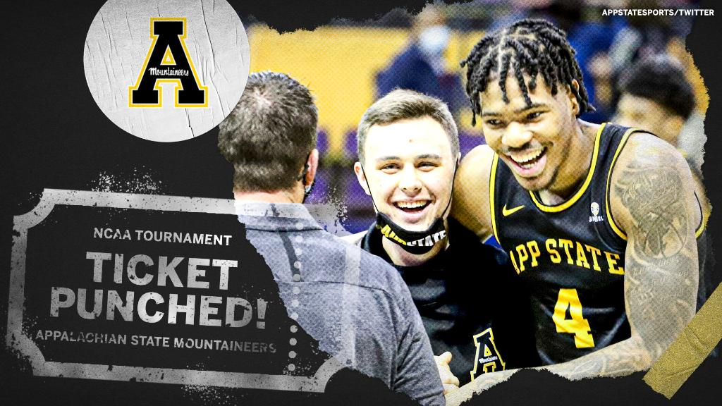Appalachian State is heading to the NCAA Tournament for the first time in 21 years after claiming its first Sun Belt Championship! 🏆