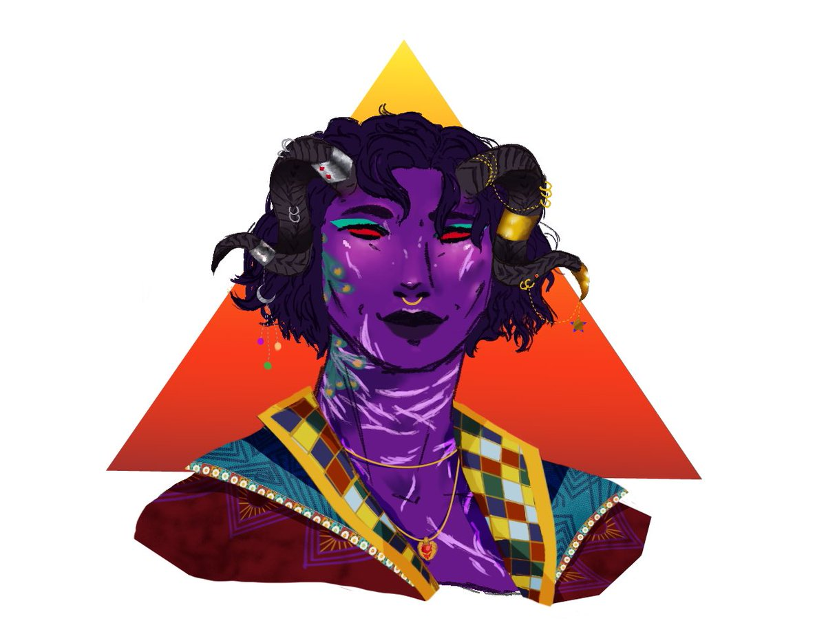 I need to get back on digital art. Here's Molly from a while ago  #artwork #art #CriticalRole #CriticalRoleArt
