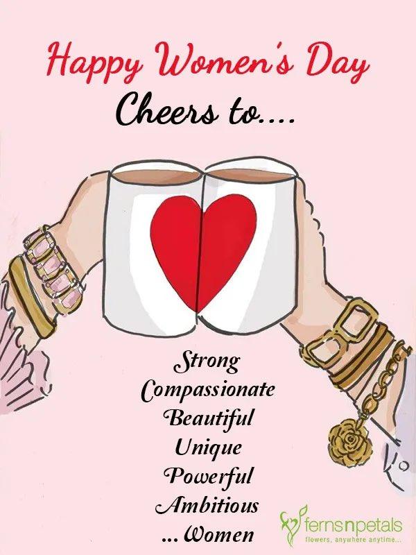 #HappyInternationalWomensDay2021 #Strong #compassionate #beautiful  #unique #powerful #ambitious #women