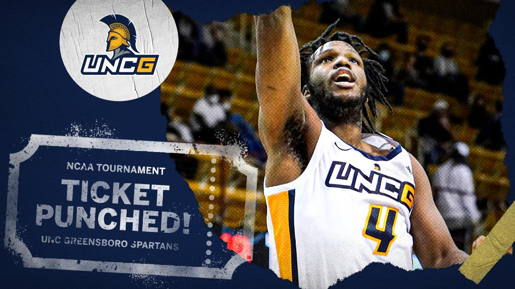 UNC Greensboro wins the Southern Conference championship and has punched its ticket to the NCAA Tournament 🎟