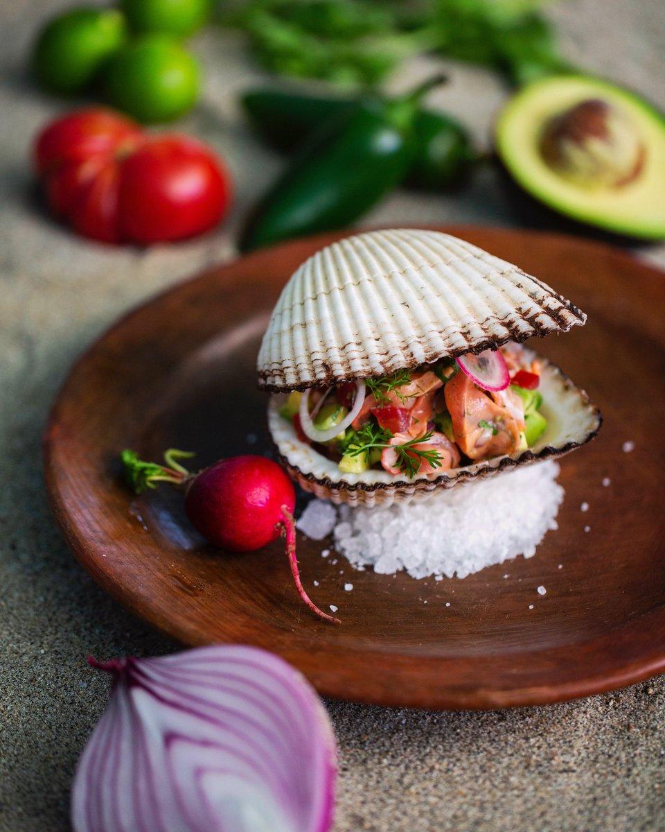 Almeja pata de mula 🦪✨; producto chulo, producto fresco, producto de nuestros mares 🌊 - Como recién salidos de las playas de Oaxaca y Ensenada a la mesa 🍽🙌🏼 - #AsiEsOaxacalifornia #Mar #CocinaDeNuestrosMares #RestauranteDeMariscos #Oaxaca #Almeja #Ensenada #SeaFood