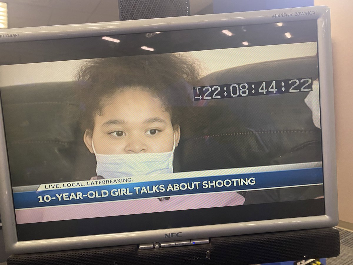 Tonight on @wbaltv11 #news a ten year old #girl is telling her frightening story about getting shot in #Baltimore to @KaiWBAL