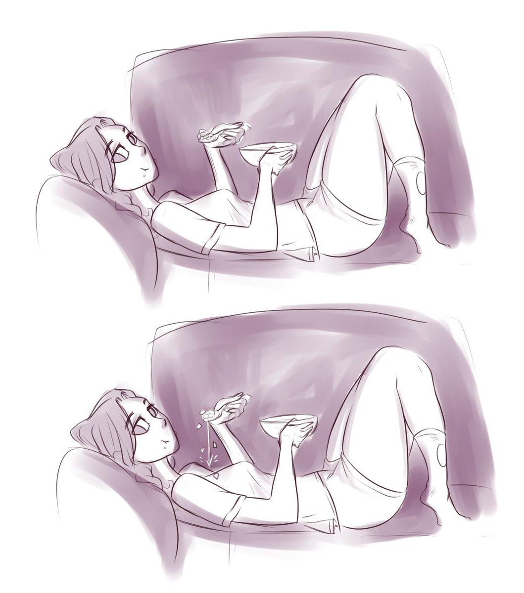 Sketches ://  #sketches #practice #girl #cerealday #damn #Watching