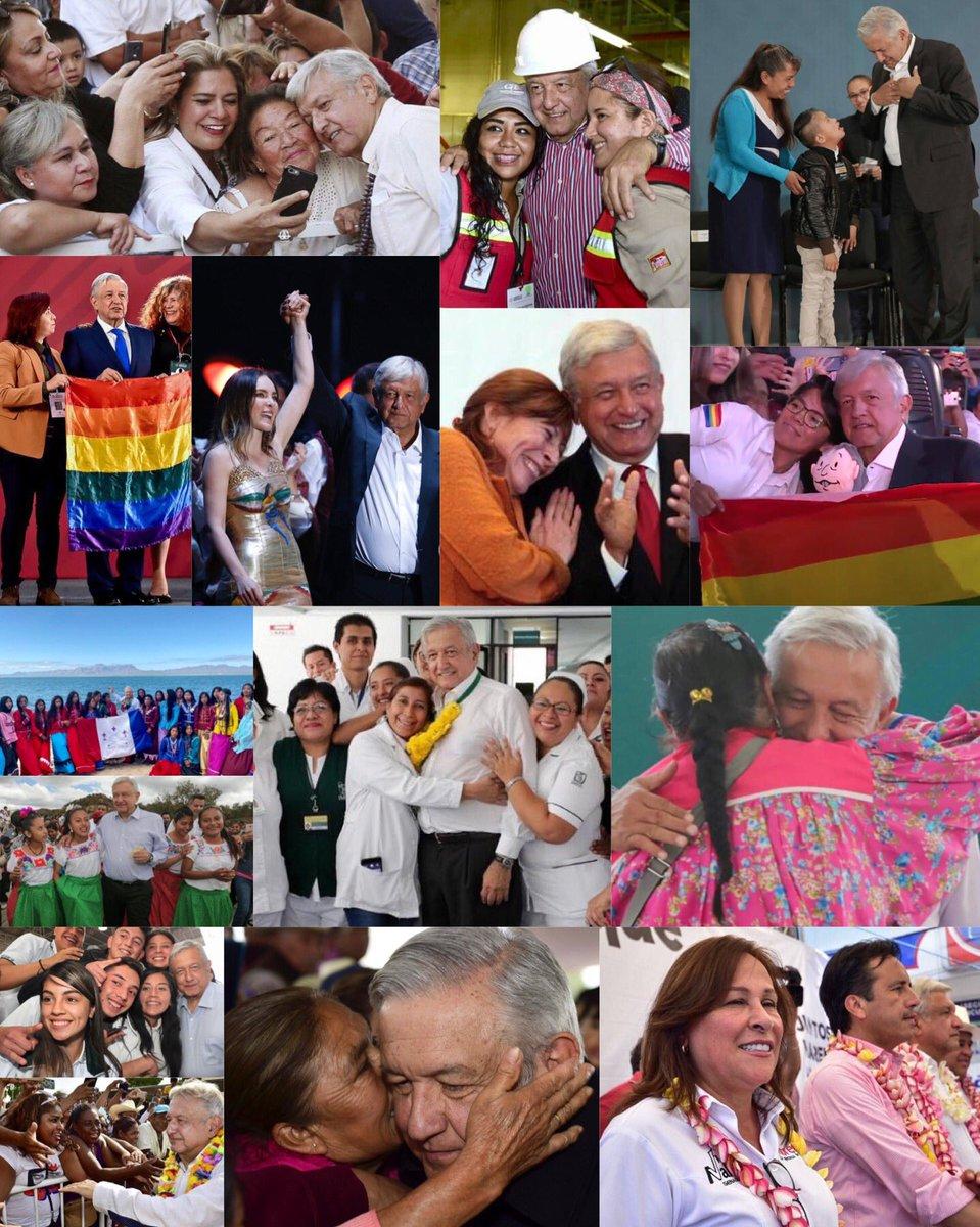 #DiaInternacionalDeLaMujer #FelizDiaDeLaMujer #8M2021#Diadelamujer #MujeresConAMLO  🇲🇽🏳️🌈❤️ #EsUnHonorEstarConObrador #AMLOmasFuertequeNunca #RedAMLO #FelizLunes #InternationalWomensDay#8demarzo 💚💜     #NosVemosEnLasUrnas  #VotoMasivoPorMorena2021
