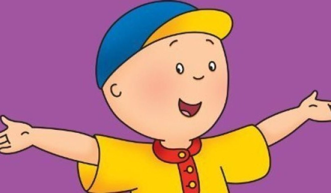 #CancelACartoonCharacter caillou honestly I want to punt him he is so annoying