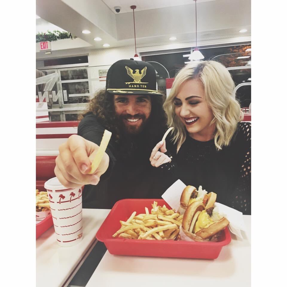 Went to dinner 5 years ago @innoutburger and here's to many more with this powerful and inspirational woman!   #innout #InternationalWomensDay