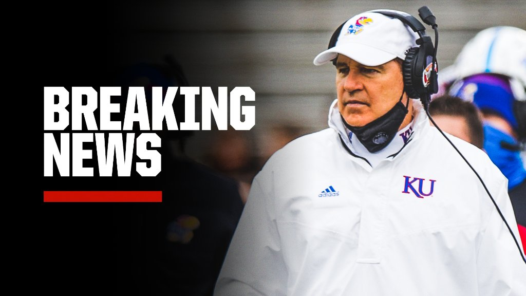 "Breaking: Kansas and Les Miles have ""mutually agreed to part ways effective immediately,"" the school announced."