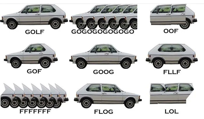 Got myself a Gof Cabrio.  #wtf #funny