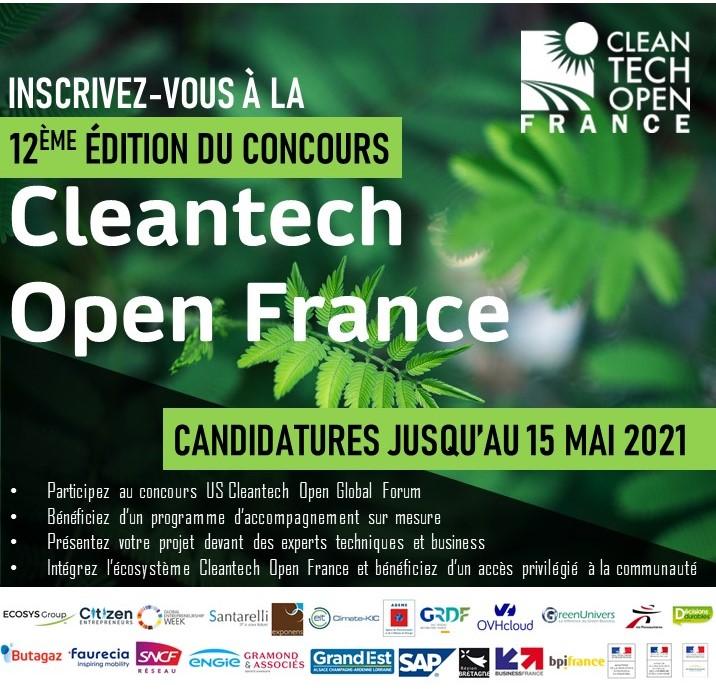concours Cleantech Open France