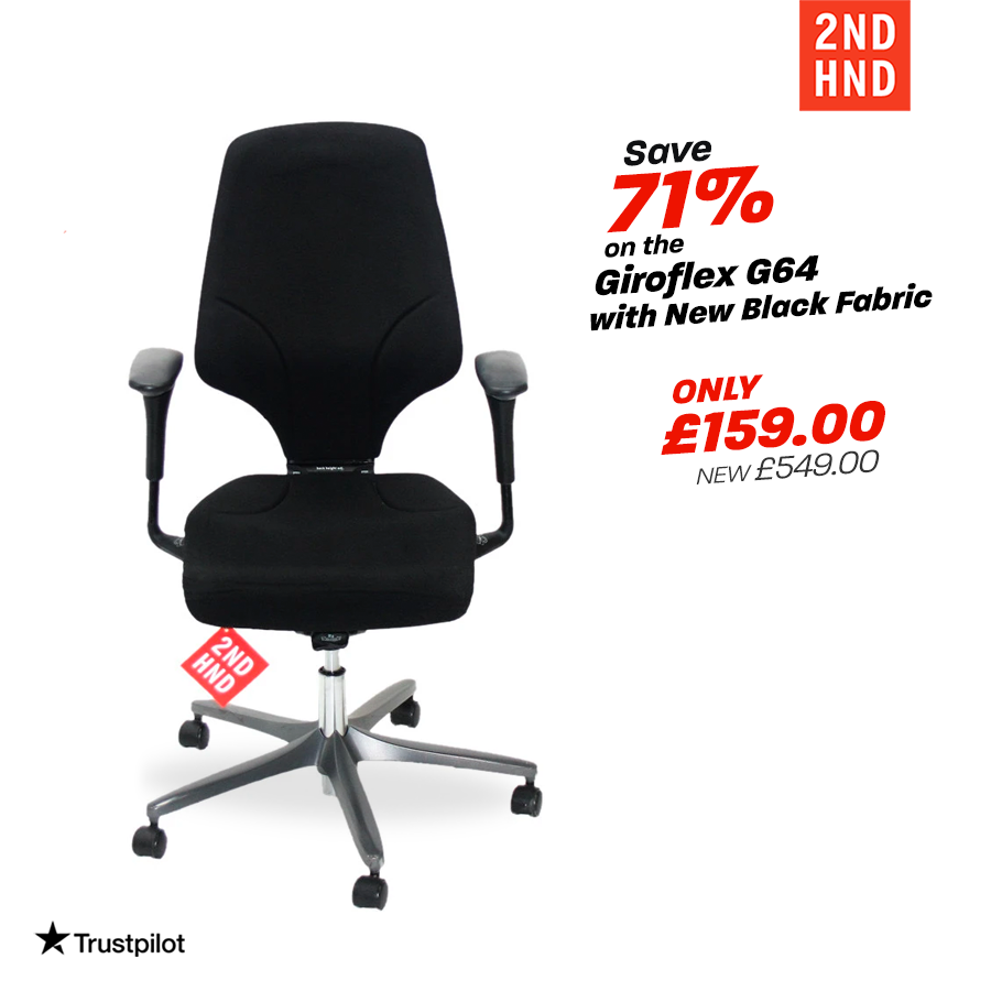 Are you looking for an Affordable, Comfortable and Ergonomic task chair for your Home or Office? The Giroflex 64 is one of the most successful task chairs in the market. 💥Save 71% Now -   #stayhome #staycomfy #workingfromhome #ergonomics #upcycledchairs