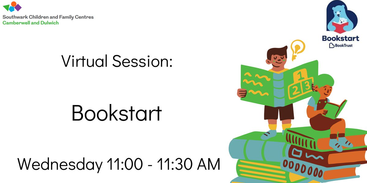 #Stayhome and join us and book start with a great reading session!   @Booktrust