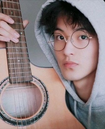 Mark                                     Krisun with his                             with their guitar                                  ukulele  #NCTzenSelcaDay #NSD #MARK #NCT #NCT127 #NCTDREAM@NCTsmtown