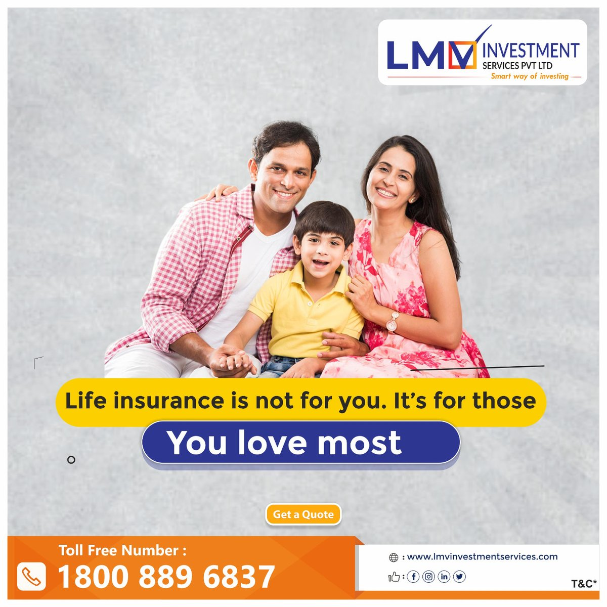 Prevent yourself from miseries by SAFELY relying on insurance plans from #LMV visit us:  . . . . . #covid19 #coronavirus #stayhome #staysafe #stayhealthy #lifeinsuranceagent #LMVFS #Lifeinsurancepolicies #insurancelife #termlifeinsurance #insurancecompany