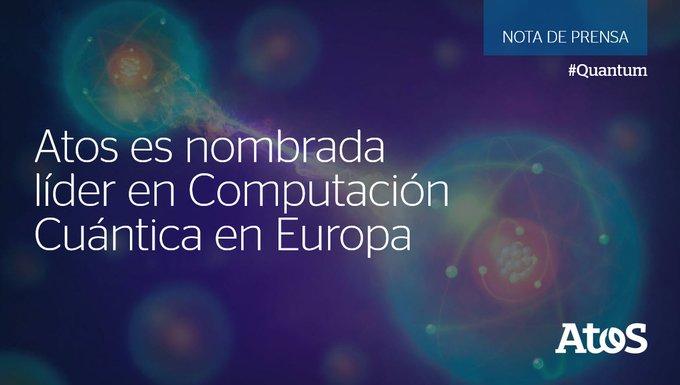 🔝 Atos ha sido nombrada líder en el Market Landscape for Quantum Computing de...