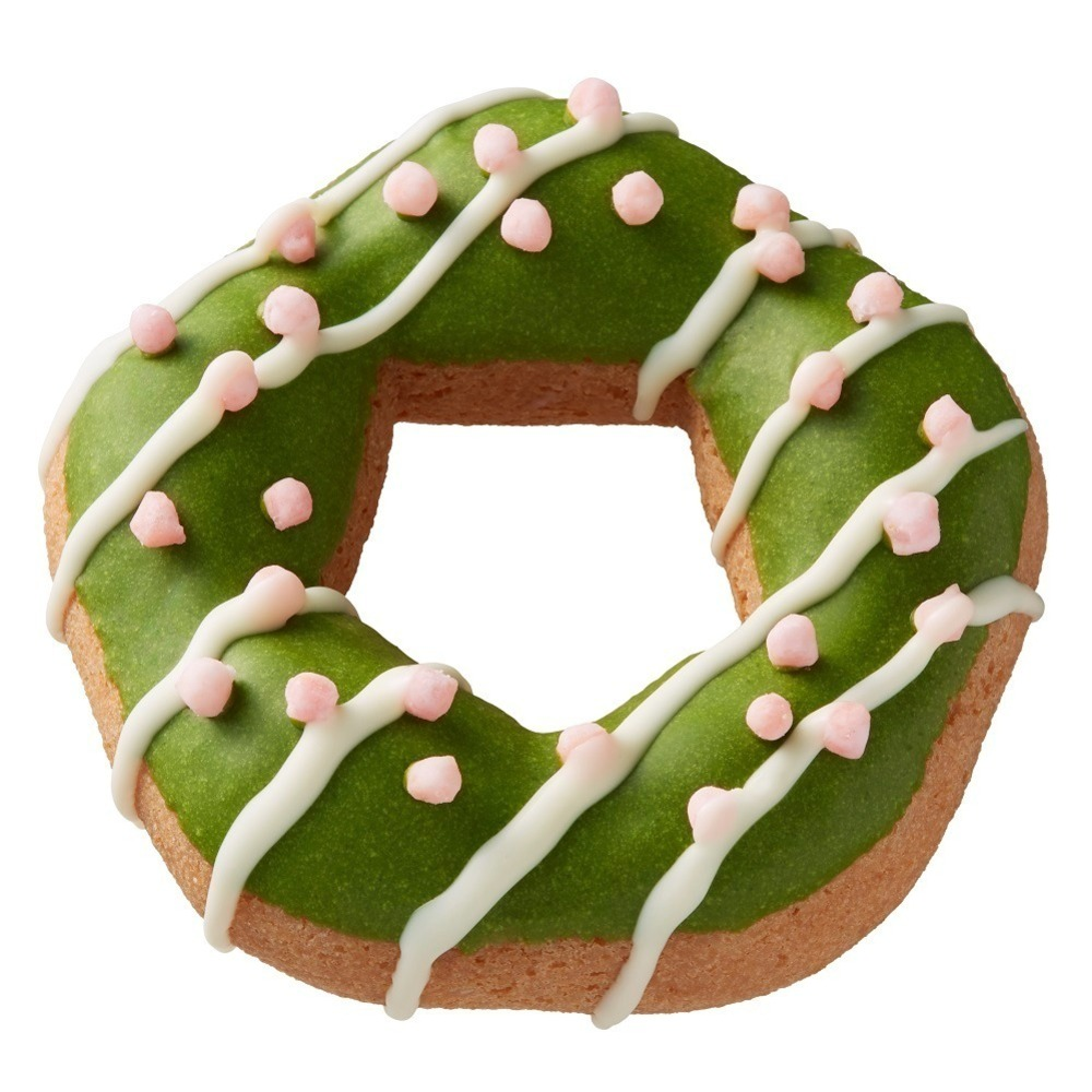 ミスタードーナツ×祇園辻利のコラボレーション!咲く抹茶がテーマのさくら餡やわらび餅を使用したドーナツが美味しそう!