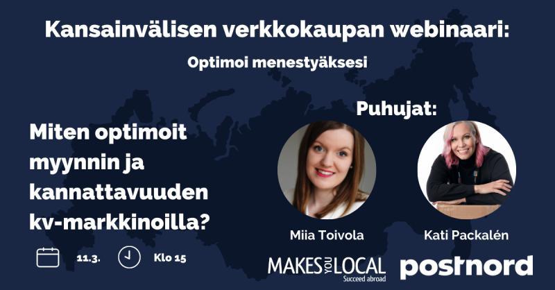 Twitter-kuva käyttäjältä PostNord Finland