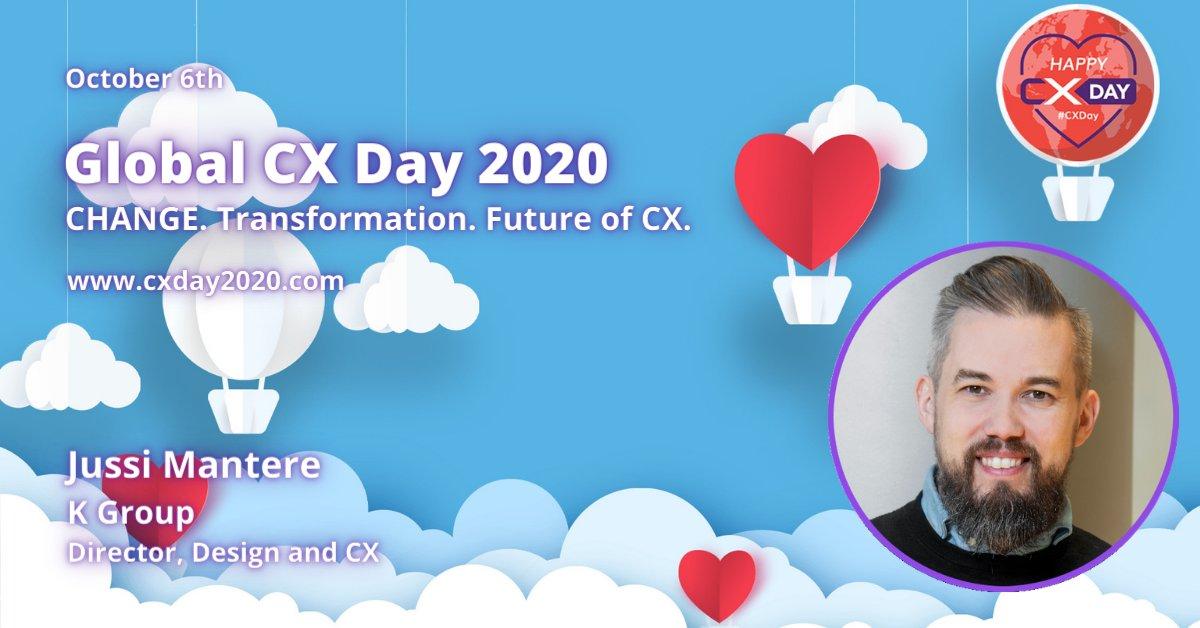 Twitter-kuva käyttäjältä CX Masterclass