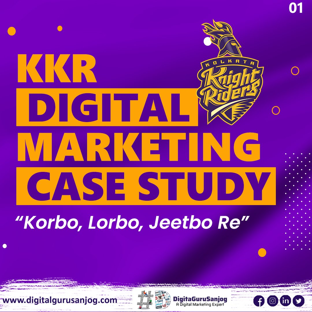 DID YOU KNOW🤨 How @kkriders gain ⬆️it's huge followers form Digital World. 💻  How @kkriders and @iamsrk build trust and love in heart❤️ of Indian's form Digital Marketing🖥️  Swipe and read the post➡️ @kkriders @iamsrk #kkr #kolkata #kolkataknightriders #kolkataknightriders💕