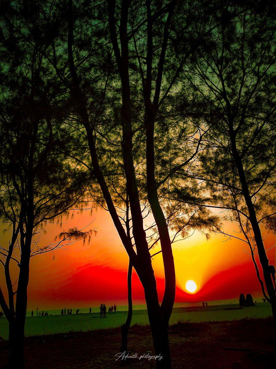 Sunset✨️📸 #evening #sunset #nature #photography #sky #love #photooftheday #naturephotography #clouds  #beautiful #summer #landscape #travel #photo #sun #night #picoftheday #like #india #eveningsky #follow #happy  #life #sunsetphotography