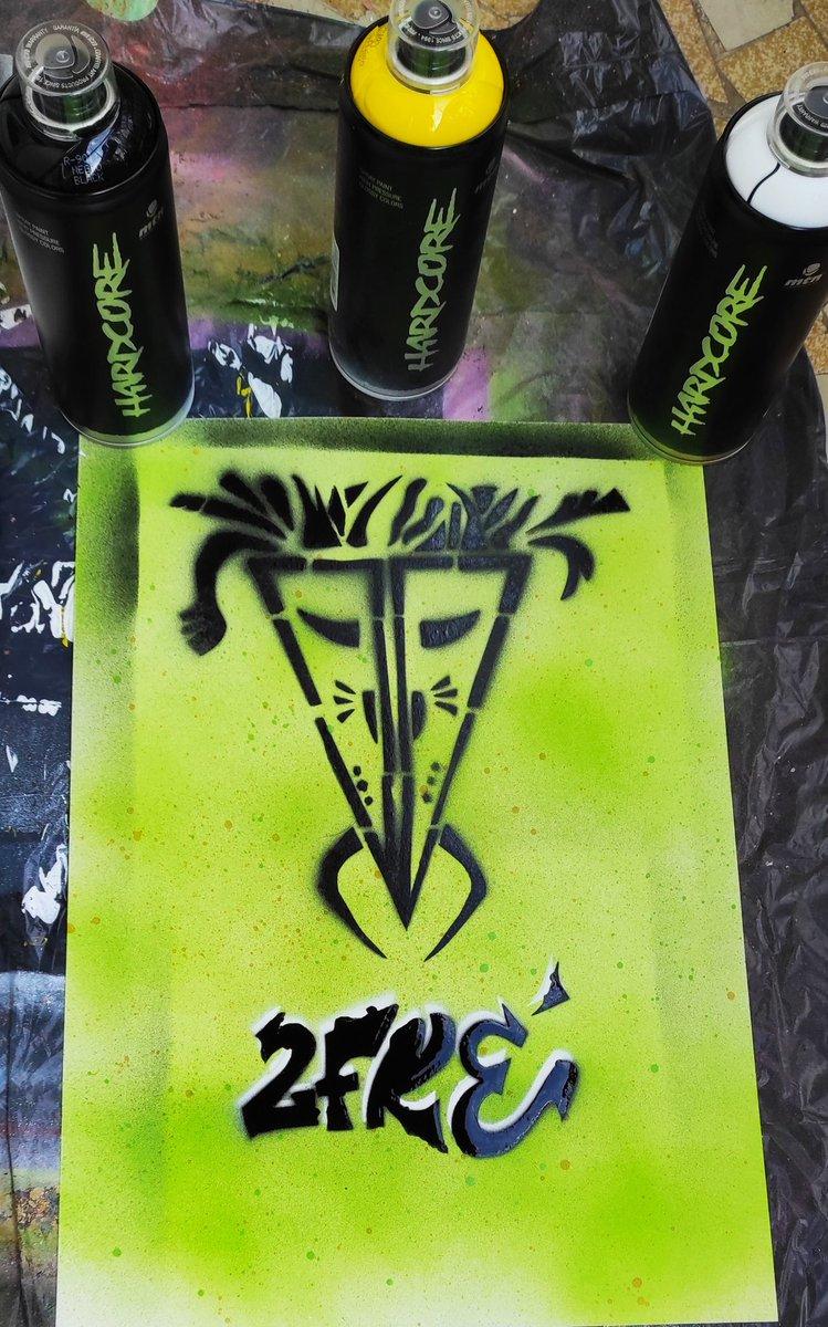 Tribe....#Pochoir #Tag #StreetArt #graffiti #Graff #urbanart #ArtistOnTwitter