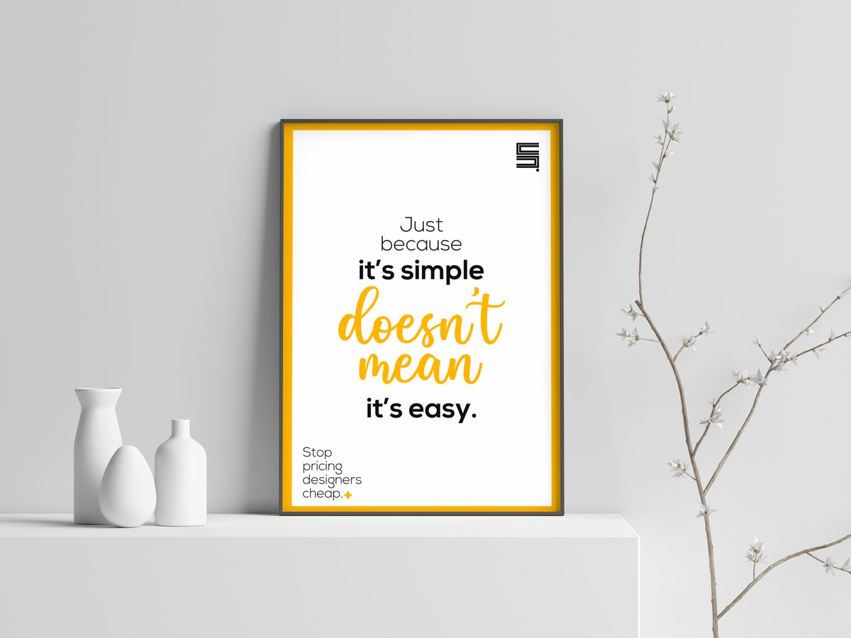 No, it is not a funny statement. There are too many statements like design is not hard na; is it not just to add colours together and just design this thing. 🙄  Yes, it is just to add colours and just design this thing; coman do it Sah  #design #GraphicDesign #DesignThinking