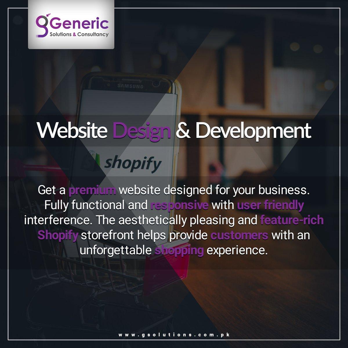 Get it designed exactly your way!  We are just one click away!   #ecommerce #webdevelopment #design #branding #marketing #brand #logo #webdesigningservices #generics #gsc21 #ecommercewebdesign