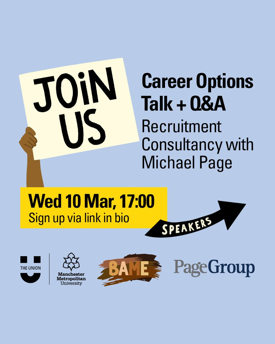 There's still time to register for tomorrow's online event with @MichaelPageUK, which will give an insight into the recruitment industry followed by a Q&A segment.  Find out more and register for FREE here: https://t.co/gpdutPlaim https://t.co/PPQeG1DLW4