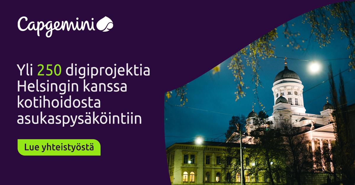Twitter-kuva käyttäjältä Capgemini Suomi